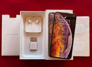 Apple Iphone Xs Max 256GB Rom - 4GB Ram - Gold Color Unlocked