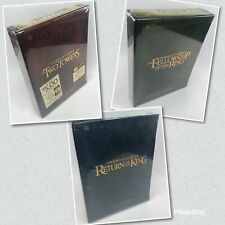 Lord Of The Rings - 3 Boxset Bundle - New & Sealed Special Extended DVD Edition