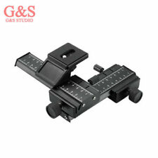 4 Way Macro Focusing Rail Slider /Close-up Shooting 4 Canon Nikon Sony Sigma SLR