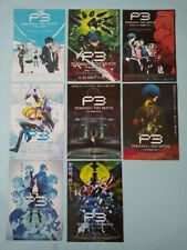 Persona 3 the Movie: #1~4 Japan Movie flyer set chirashi mini poster B5 NM