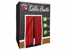 Photo Booth Selfie Family Size Toy, Gray/Red - NEW - Distressed Box