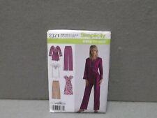 SIZE 10 -18 UNCUT SIMPLICITY 2371 PATTERN  Miss Vintage 2010s PANT TUNIC DRESS