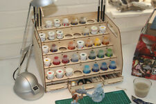 Paint station - 3mm birch ply - hobbyists, painters, painting minis, DIY kit