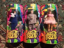 AUSTIN POWERS, DR. EVIL, FEMBOT, SET OF 3 ACTION FIGURES, NEW IN BOXES