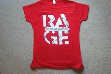 Rage Against The Machine envejecido Rojo señoras Skinny Remera Oficial Nueva Ratm