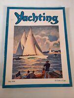 Vintage July 1936 Yachting magazine .Boating advertisements