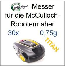 30 TITAN Messer Ersatzmesser Klingen 0,75mm für McCulloch Rob R600 Mc Culloch