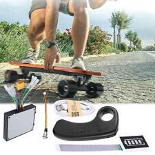 Skateboard elettrico longboard dual drive ESC controllo LED con telecomando Kit