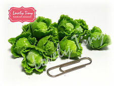 10 Pcs.Loose cabbage Dollhouse Miniatures Vegetable