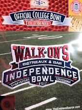 College Football Independence Bowl 2017/18 Patch Florida State South Mississippi