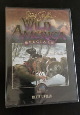 "Marty Stouffer's Wild America Specials DVD: ""Marty's World"" Brand New"