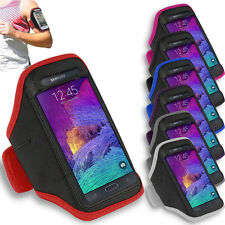 Samsung Galaxy Note 4 - Sports Running Jogging Gym Armband Case Cover Holder