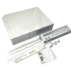 Transparent Host Shell Cover Case for Wii Game Console Replacement Case Cover