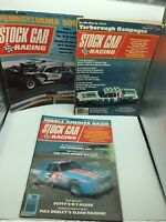 Stock Car Racing Magazine lot Aug.1977 Jan.1972 Nov.1976 Riverside400 Yarborough