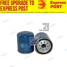 Wesfil Oil Filter WZ418 fits Toyota Prado 2.7 (RZJ12),2.7 (RZJ95),3.0 D-4D (G