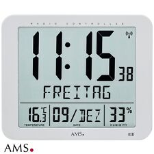 AMS 48 Reloj De Pared MESA Radio Digital oficina DESPERTADOR 483