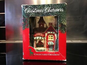 Christmas Charmers Santa's Best Ornament Collectable Home Baked Happiness IL USA