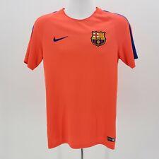 Nike Dri-Fit Fcb Beko Authentic Football Jersey Shirt Bright Orange Men's Large
