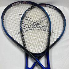 New listing Pro Kennex Tennis Racquet - Set Of Two - 1/1/7 Intruder 4 1/2 - Blue & Black