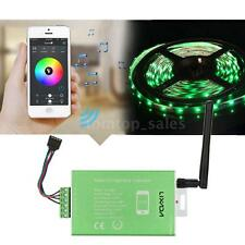 APP Remote Controller Bluetooth Wireless Receiver RGB LED Strip Light Lamp U3P9