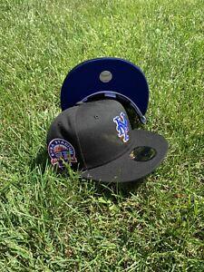 Hat Club Exclusive New York Mets Shea Stadium New Era Royal Blue UV White Guts