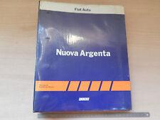 MANUALE DI ASSISTENZA ORIGINALE FIAT ARGENTA 1984 2000 SX E NORMALI ULTIME SERIE