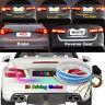 4 Farben RGB Trunk Heckklappe LED Lichtleiste Für Rückwärts Brems Blinker Licht