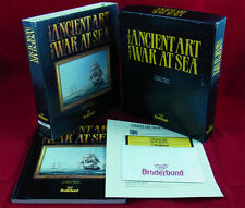 PC DOS: the Ancient Art of War at Sea-broderbund 1987