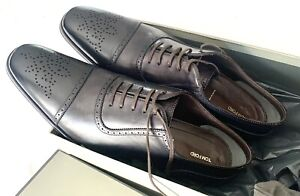 Tom Ford men's Formal Oxford shoes-Size 11 TF-Italy $1,990 Color: Dark Gray NWT