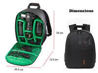 DSLR Compacto Mochila Bolsa Funda Cámara para Canon EOS 5d Marca II, Mark III