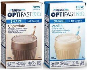 OPTIFAST® 800 READY-TO-DRINK SHAKES | COMBO | 2 CASES | CHOCOLATE & VANILLA