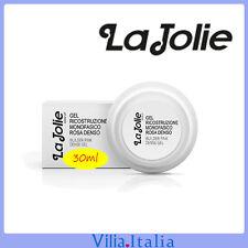 Gel unghie ricostruttore - Monofasico Rosa denso 30ml La Jolie