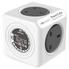 PowerCube Original Monitor Extension Plug & Cost Electricity Use Calculator New