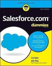 FAST SHIP - KAO PAZ 6e Salesforce.com For Dummies                            FP9
