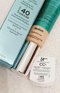 It Cosmetics Your Skin But Better Full Cover Medium Matte Foundation SPF40 32ml