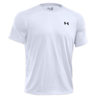 Under Armour Men's Tech Short Sleeve T-Shirt - White / Black - Medium NWT