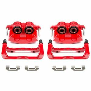 PowerStop for 98-02 Chevrolet Camaro Front Red Calipers w/Brackets - Pair