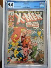CGC 9.0 X-Men #67 *OW-White*1970*X-Men Reprints Begin*New Case*