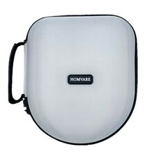 Homvare Hard Headphone Case Travel Bag with Handle and Wire Storage Large