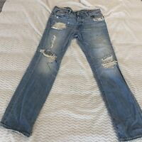 ABERCROMBIE AND FITCH REMSEN LOWRISE SLIM STRAIGHT MEN'S JEANS SIZE 32x32