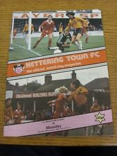 16/01/1982 Kettering Town v Mossley [FA Trophy] . Thanks for viewing our item, w