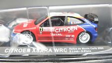 MODELLINI AUTO CITROEN Citroën XSARA SCALA 1:43 RALLYE CAR MODEL MINIATURE IXO
