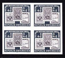 Ö.1975 Schwarzdruck-Viererblock ANK.Nr.:N9 (1522) pf**siehe Bild >