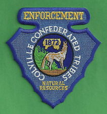 COLVILLE TRIBES WASHINGTON NATURAL RESOURCES ENFORCEMENT POLICE PATCH