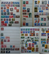 DDR / BRD Briefmarkensammlung / Collection  ___ ca. 356 Briefmarken / Stamps