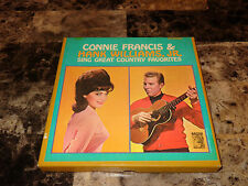 Hank Williams Jr & Connie Francis Rare Reel To Reel Sing Great Country Favorites