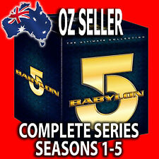 BABYLON 5: Complete Series Seasons 1 2 3 4 5 +Movies +Crusade Lost Tales DVD SET