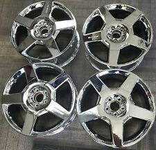 AMG MERCEDES ML-CLASS, R-CLASS CHROME OEM ALLOY WHEELS RIMS 19x8 1/2 2006-2008