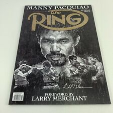 The Ring Magazine November 2020 Manny Pacquiao Special Issue No Label