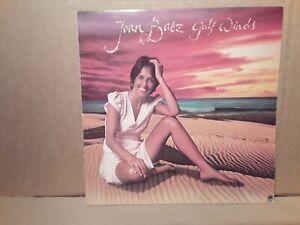 JOAN BAEZ - GULF WINDS - SINGER  SONGWRITE - FOLK - VINYL  LP - PLAY  TESTED.